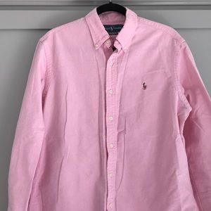 Ralph Lauren Pink Button Down Men's Large